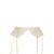 Pandion embroidered-lace suspender belt