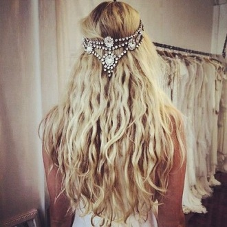 hair accessory blonde hair wild jewels diamonds hairstyles hair band princess hipster boho wild spirit