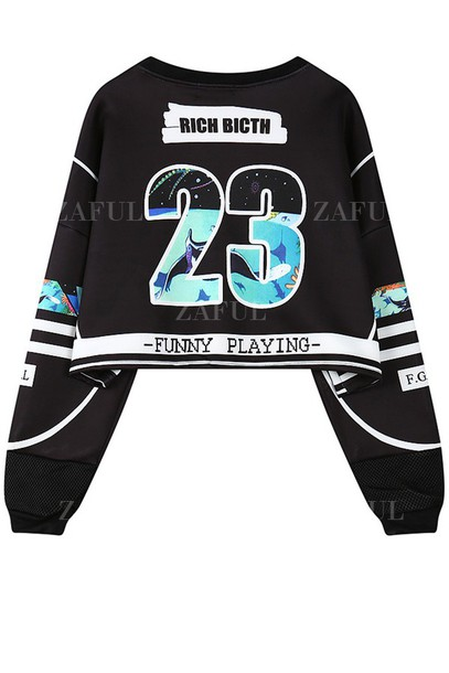 Sweater dope rich bitch zaful cropped sweater tumblr hipster cropped cropped hoodie ...