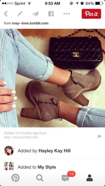 shoes wedge booties