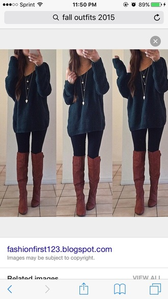 top sweater navy long sleeves