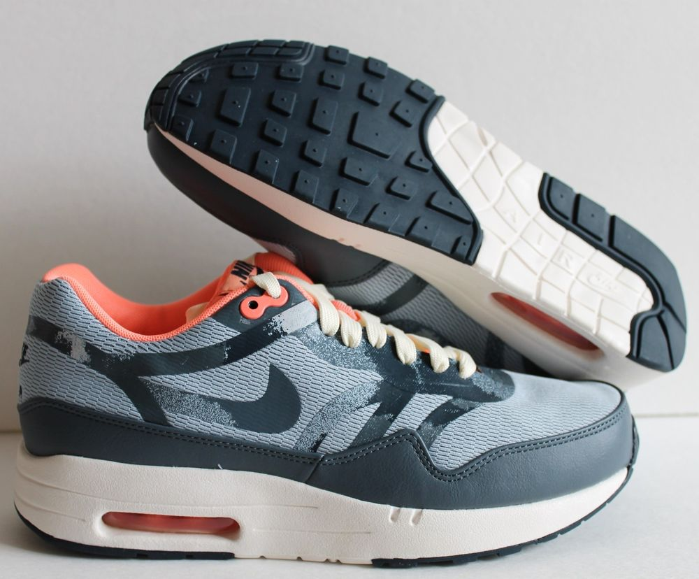 on sale bed36 db342 nike wmns air max 1 comfort premium tape blue-pink-white-gre