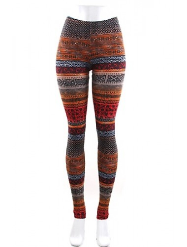 Aztec Print Leggings | Clothing | Womens Clothing, Shoes, Jewelry & Plus Sizes | B. De'Lish