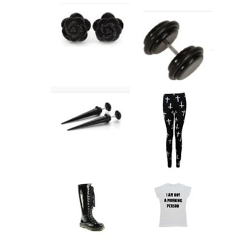 leggings quote on it cross leggings earing boots black printed leggings