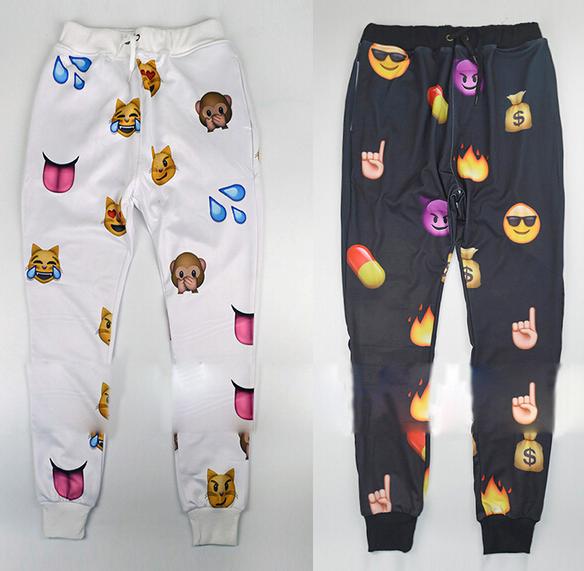 Emoji trouser and sweater pant
