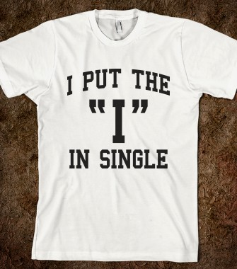 I put the i in single texting time skreened t shirts for Custom single t shirts