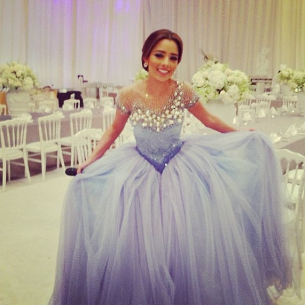 dress prom prom dress bridesmaid lavendar lavendar prom dress jewels glitter glitter dress sparkle diamonds tulle skirt ball gown dress gown prom gown balqee arabic singer evening dress pagent wedding long prom dress long bridesmaid dress gorgeous