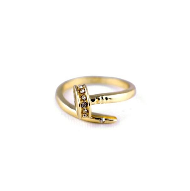 jewels, nail armour, nail head ring, screwdriver ring, crystal, ring ...