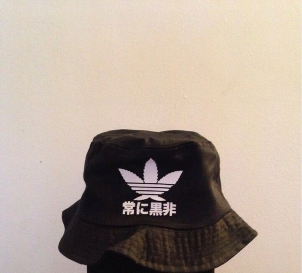 hat bucket hat black adidas bag baf723987e8