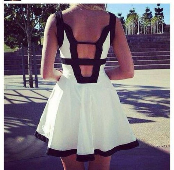 dress backless cute dress girly