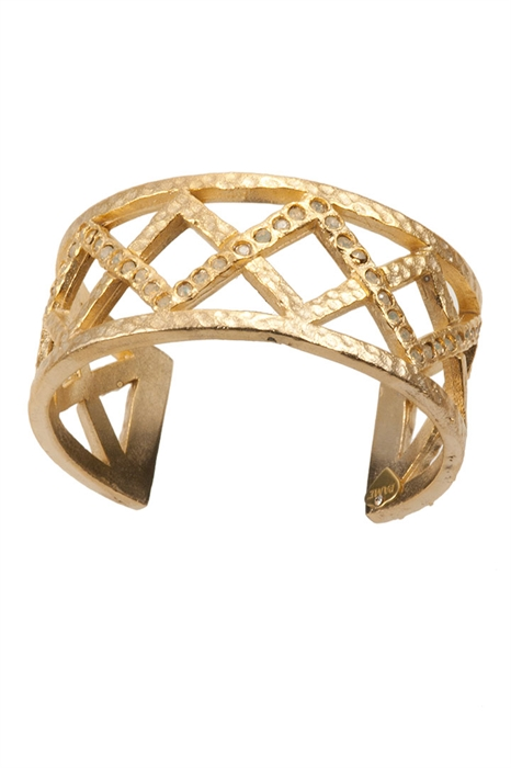 Cut Out Cuff-Gold