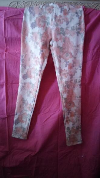 leggings fadded glory strech leggings floral