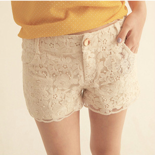 New Arrival Women Hot Short Pants Crochet Lace Shorts Plus Size Trendy Summer Pants Free Shipping WKD157-in Shorts from Apparel & Accessories on Aliexpress.com | Alibaba Group