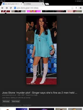 dress joss stone mini dress plunging neckline dress