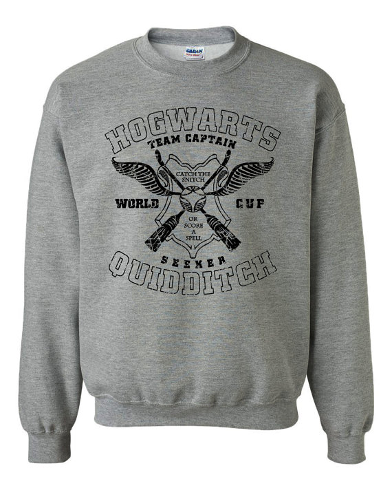 Quidditch Hogwarts Athletics Harry Potter Geek Fan by trendingwear