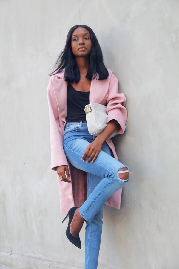 bisous natascha blogger top bag jewels coat shoes