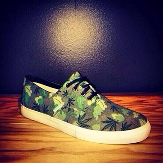 shoes green weed pot mary jane ganga marihuana