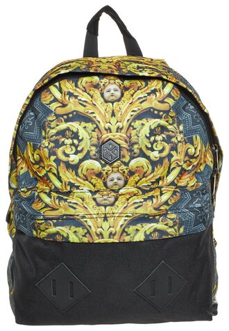 bag hype gold angel backpack black