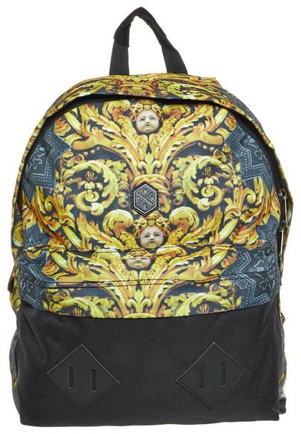 76c204f040 bag hype gold angel backpack black