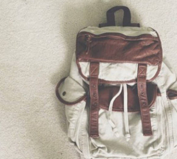 bag khaki backpack pacsun