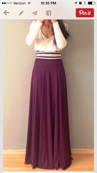 skirt maxi skirt burgundy maxi dress