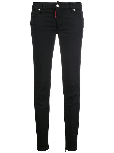 Dsquared2 jeans women spandex cotton black