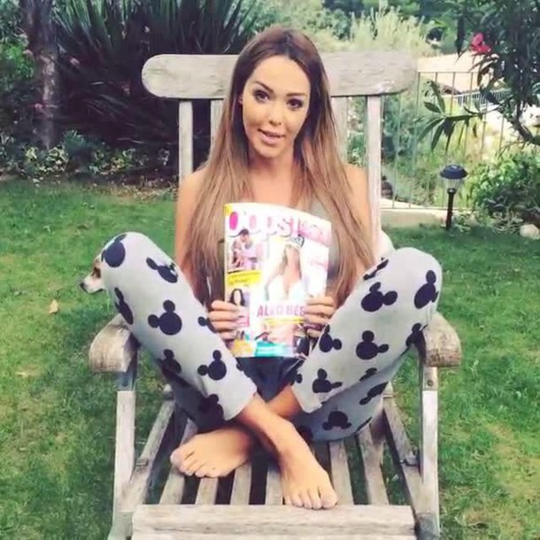 leggings grey mickey mouse