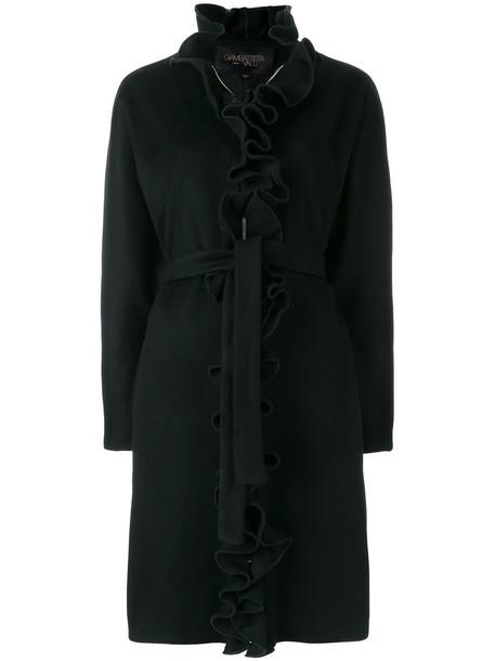GIAMBATTISTA VALLI coat women black