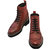 5 Inch Elevator Boots : Bordeaux