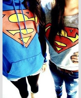 top hoodie superman