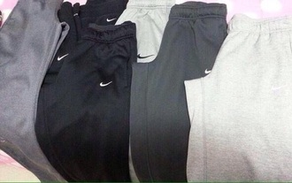 sweatpants gray gray pants soft cotton black comfortable