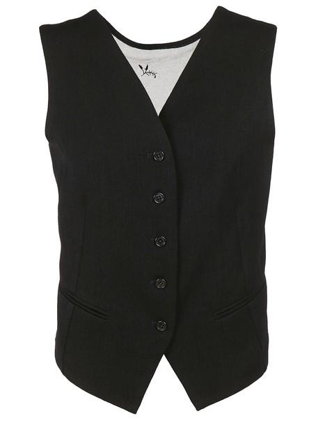 ANN DEMEULEMEESTER vest lace jacket