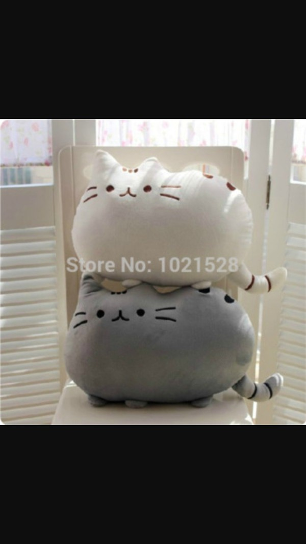home accessory pillow cats kawaii