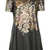 Flower Print PU Shift Dress - Dresses  - Clothing  - Topshop
