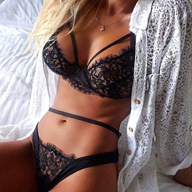 underwear, bralette, black, lace, dark, sexy, bodycon, sexy