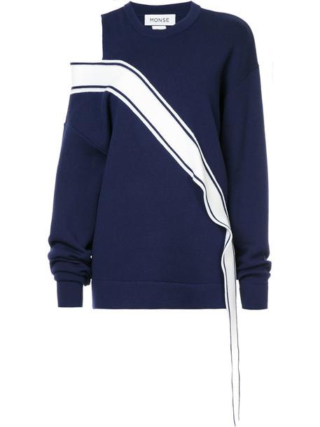 Monse sweater women blue wool