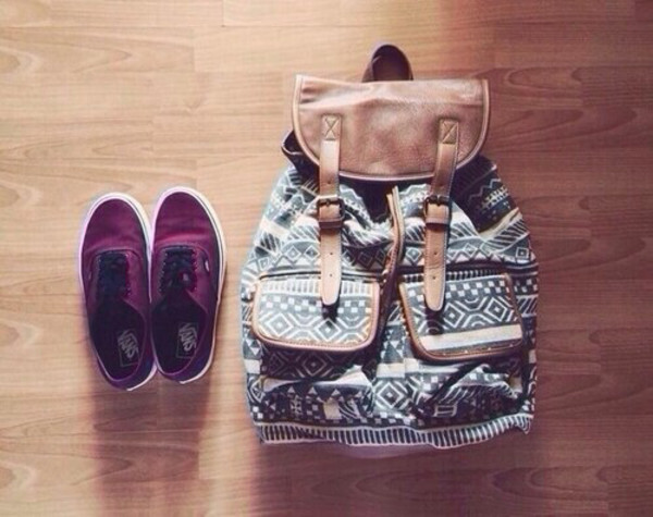 bag aztec backpack