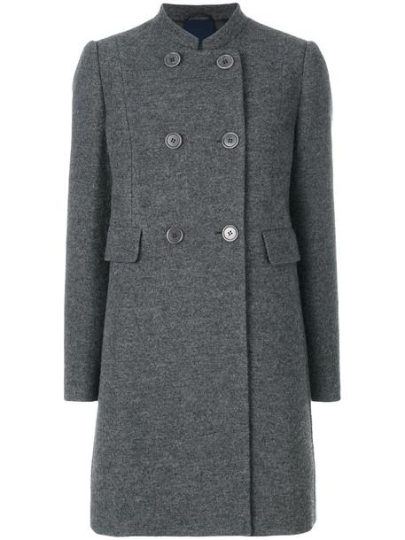 ASPESI coat women wool grey