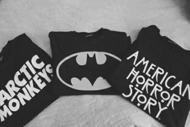 t-shirt batman american horror story sweater