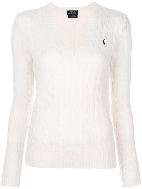 Polo Ralph Lauren sweater wool knit cream