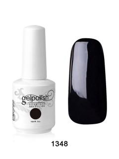 Black soak off gel nail polish