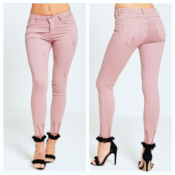 jeans ripped jeans denim destroyed denim pants trendy trousers pants trendingfashion