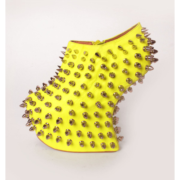 Neon Sirius Shadow Wedge - Jeffrey Campbell - Polyvore