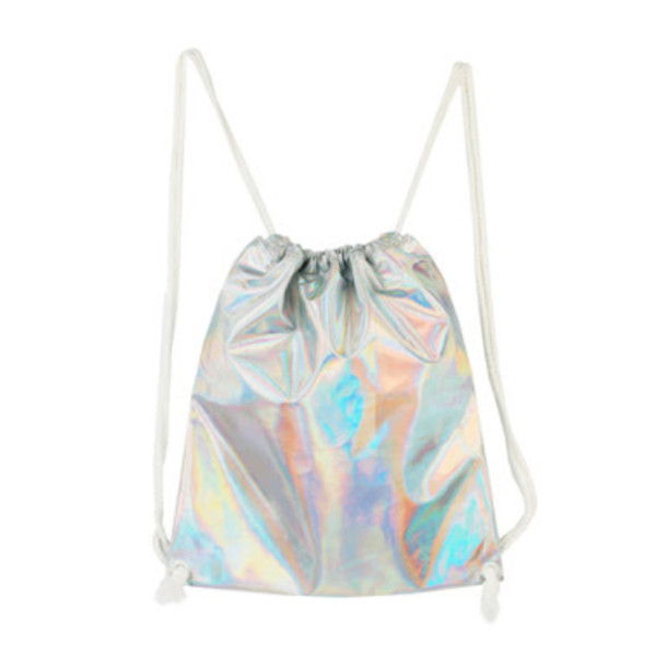 bag holographic bag cute bag kawaii holographic