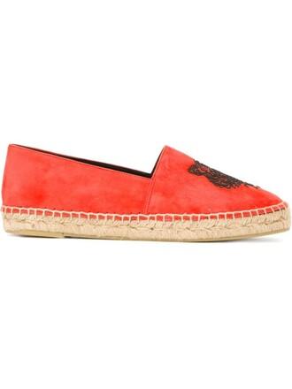 tiger espadrilles yellow orange shoes