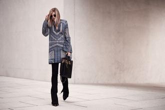 bekleidet blogger dress jeans shoes bag