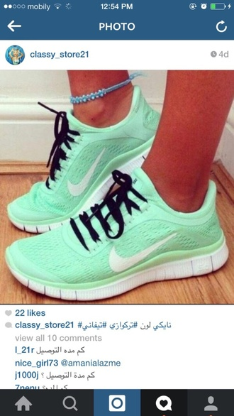 shoes nike shoes mint mint shoes turquoise turquoise shoes