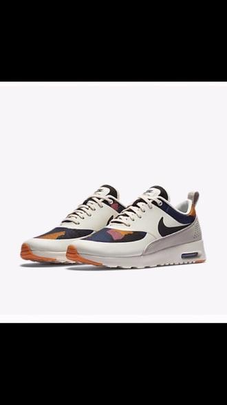 shoes nike nike air max thea air max white camouflage
