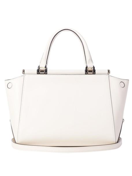 coach handbag white bag