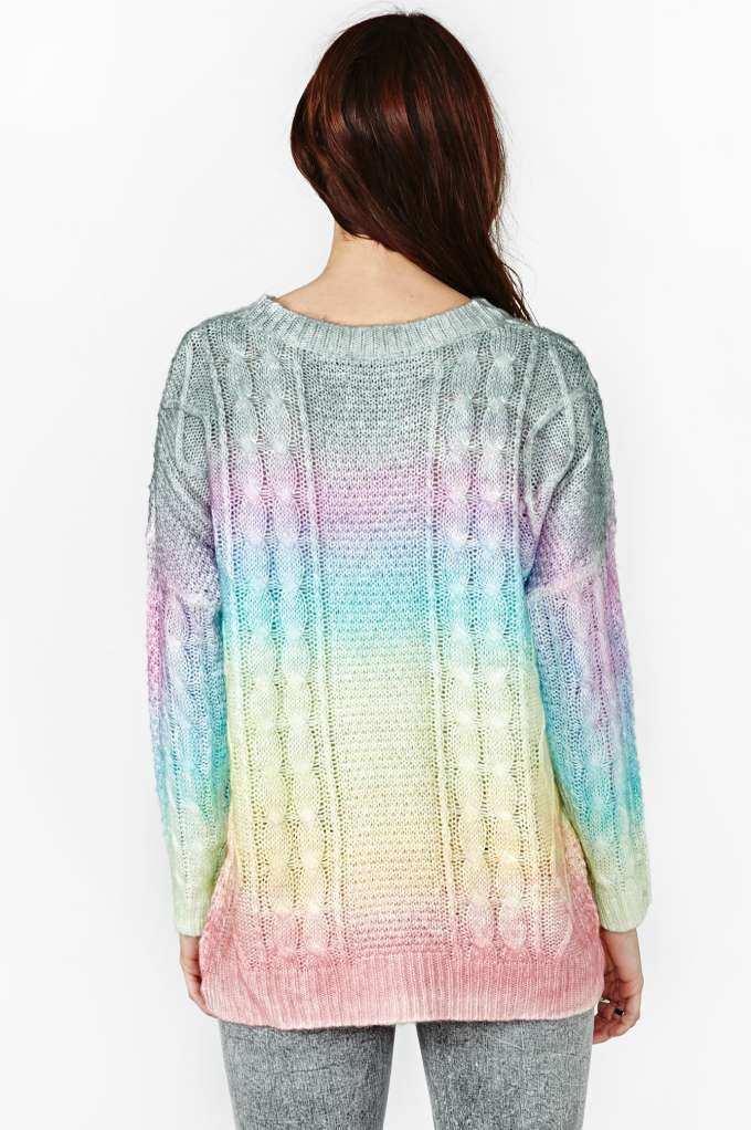 UNIF Cake Rainbow Knit | Shop Unif at Nasty Gal